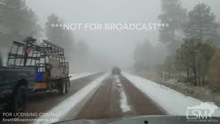 02-16-19 Payson, AZ - Heavy Snowfall