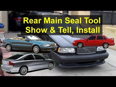 Volvo Main Rear Seal Installation Tool - смотреть онлайн на