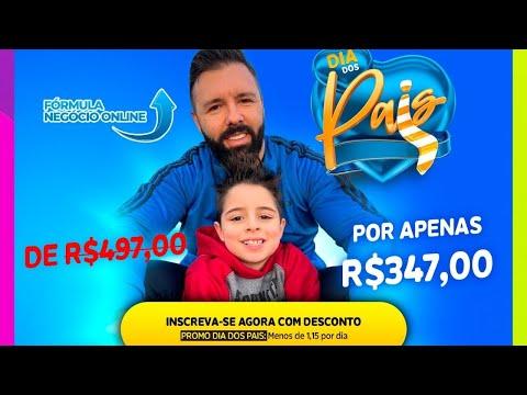 FRMULA NEGCIO ONLINE  [PROMOO DIA DOS PAIS] - FNO - Alex Vargas + Bnus