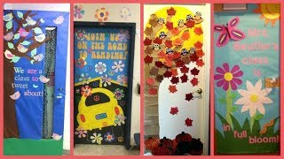 Letest Classroom Door Decoration Ideas |  Classroom Door Decoration Ideas For School |