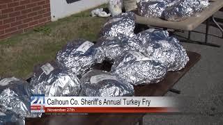 Calhoun County Sheriff's Office Turkey Fry on Wednesday