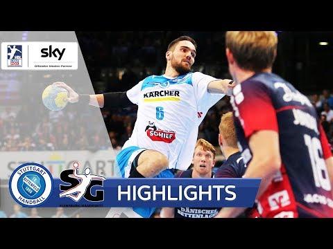 TVB Stuttgart - SG Flensburg-Handewitt   Highlights - LIQUI MOLY Handball-Bundesliga 2019/20