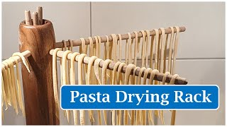 Woodturning - A Pasta Drying Rack - Mein Pasta Trockner Aus Walnussholz