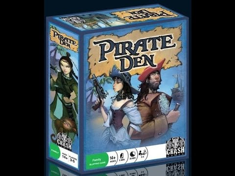 The Purge: # 961 Pirate Den: Pirates fighting over booty...just like men today