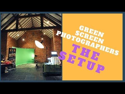 Green Screen Photographers Video