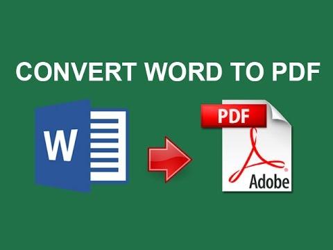 Convert Word to PDF: Cách chuyển file từ Word sang PDF