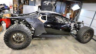 Building The Off-Road Lamborghini Huracan Body From Aerospace Composites (Thanks Elon!)