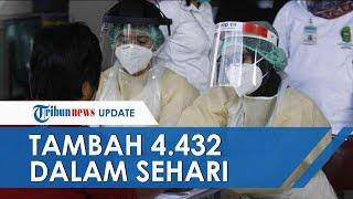 UPDATE COVID-19 di Indonesia Hari Ini 22 Oktober Tambah 4.432 dalam Sehari, 3.497 Pasien Sembuh