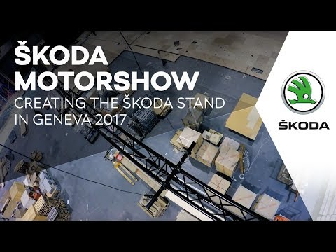 Making of: NUSSLI built the Škoda exhibition stand at the 87th Geneva International Motor Show