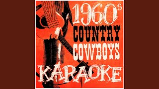 Hello Walls (In the Style of Faron Young) (Karaoke Version)