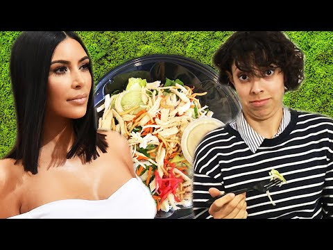 We Tried Kim Kardashian's Favorite Salad