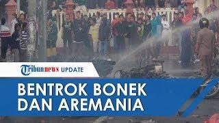 Aksi Bentrokan Bonek vs Aremania di Blitar akibatkan 2 Orang jadi Korban dan 2 Motor Dibakar
