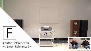 Aktiv vs. Passiv! Canton Smart Reference 5K vs Canton Reference 5K an Cambridge CXA 81 - Hifi Test!