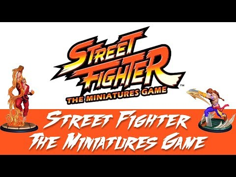 Street Fighter: The Miniatures Game Kickstarter Details