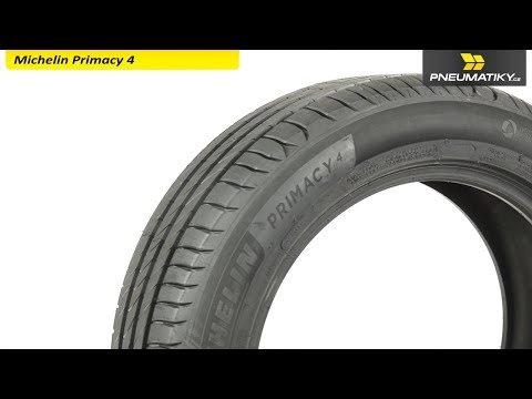 Youtube Michelin Primacy 4 205/55 R17 95 V XL Letní