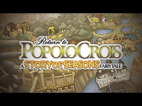 Return to PopoloCrois: A STORY OF SEASONS Fairytale Launch Trailer (EU) thumbnail