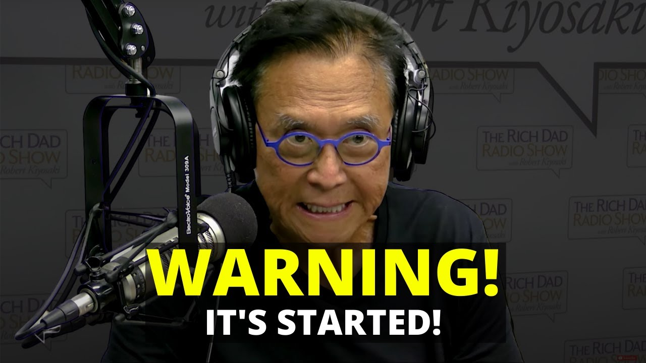 #Ripple #XRP Ripple XRP BE CAREFUL! This is serious! | Robert Kiyosaki