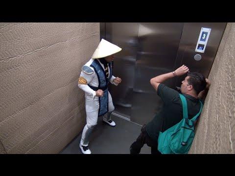Izjokošana liftā