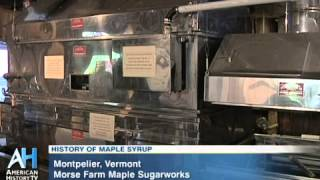 preview picture of video 'C-SPAN Cities Tour - Montpelier: Morse Farm Maple Sugarworks'