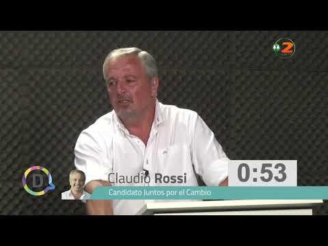 Debate candidatos Rojas
