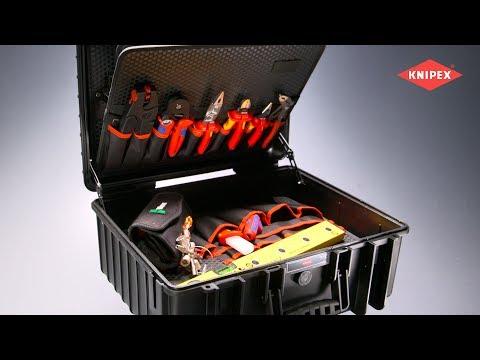 Mallette à outils « Robust34 » Électro (00 21 36)