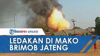 Gudang Senjata Temuan Masyarakat Markas Brimob Srondol Meledak, Satu Anggota Brimob Terluka