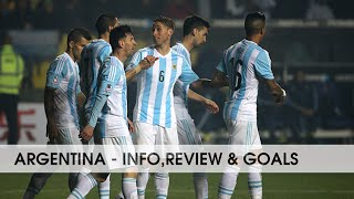 ARGENTINA ● National Football Team || Info,review & goals || 2015-2016 || HD