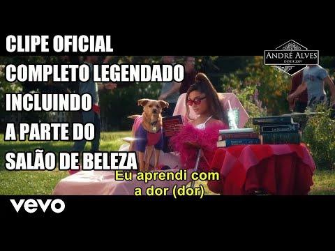 Ariana Grande - thank u, next (Clipe Oficial) (Tradução/Legendado) (PT-BR)