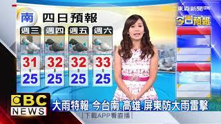 氣象時間 1070815 早安氣象 東森新聞