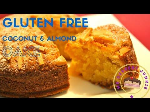 Video GLUTEN FREE COCONUT & ALMOND CAKE RECIPE | MsDessertJunkie
