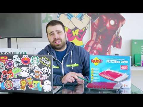 FRITZ!Box 7490 || Unboxing || Recensione || ITA 2017