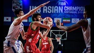 Batang Gilas vs. Lebanon | FULL GAME HIGHLIGHTS | FIBA Asia U18 | Aug. 5, 2018