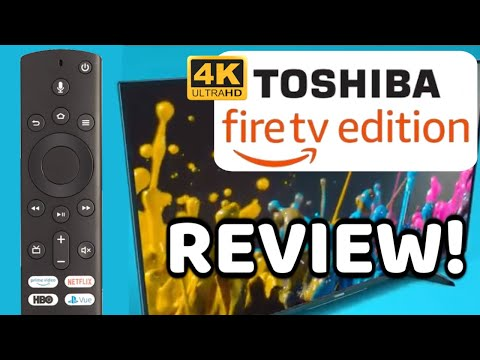 "Toshiba Fire TV Edition 50"" 4k TV Review 