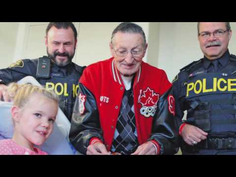 Volunteerism Awarded to Walter Gretzky
