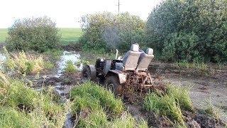 Такого оффроуда вы еще не видели!!! Самодельные трактора на бездорожье!!!