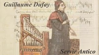 Guillaume Dufay, Conditor Alme Siderum, Servir Antico/ Catalina Vicens