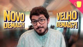 Qual a IDADE CERTA para começar no AUDIOVISUAL? // Café Com Bruno #01
