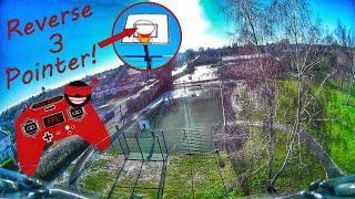 Basket ball hoop gap with fpv drone !