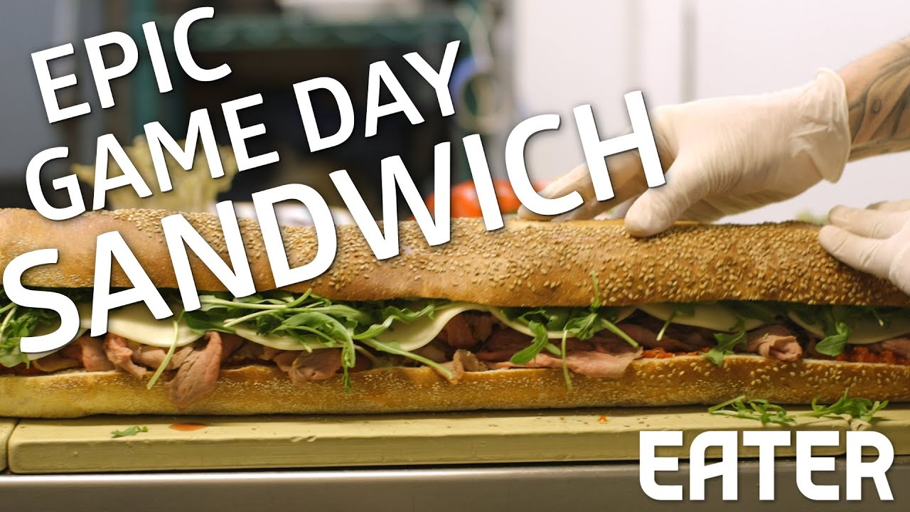 What A Gourmet 3 Foot Sandwich Looks Like thumbnail