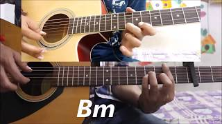 Mera Pyar Tera Pyar - Arijit Singh - Hindi Guitar Cover Lesson Chords Easy - Jalebi