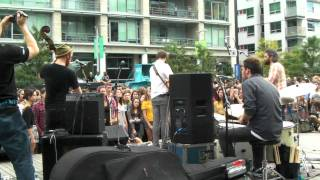 Dan Mangan - Leaves, Trees, Forest - Olympic Village, Vancouver