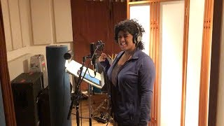 Backing Vocal Recording With Olivia Griffin