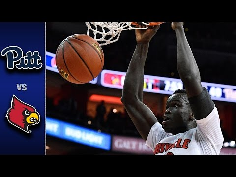 Pittsburgh vs. Louisville Men's Basketball Highlights (2016-17)