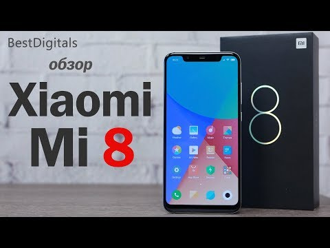 Обзор Xiaomi Mi8 (6/64Gb, Global, blue)