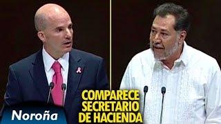 Preguntas Incómodas y Exigencias a González Anaya - Noroña Cuestiona al Secretario de Hacienda