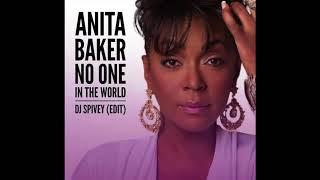 "Anita Baker ""No One in The World"" (DJ Spivey Edit)"