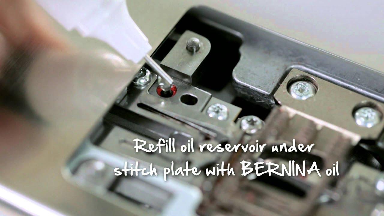 10/10 BERNINA 780: Cuidados de la máquina de coser