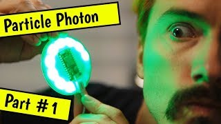 Coding on a Particle Photon Internet Button - Part #1