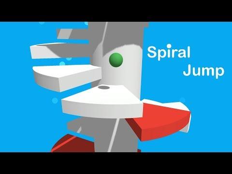 Vidéo Spiral Jump - Spiral Jumping Ball