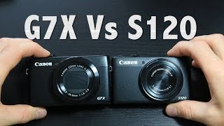 CANON G7X Vs S120 | BEST VLOGGING CAMERA | video, audio tests and unboxing (300)